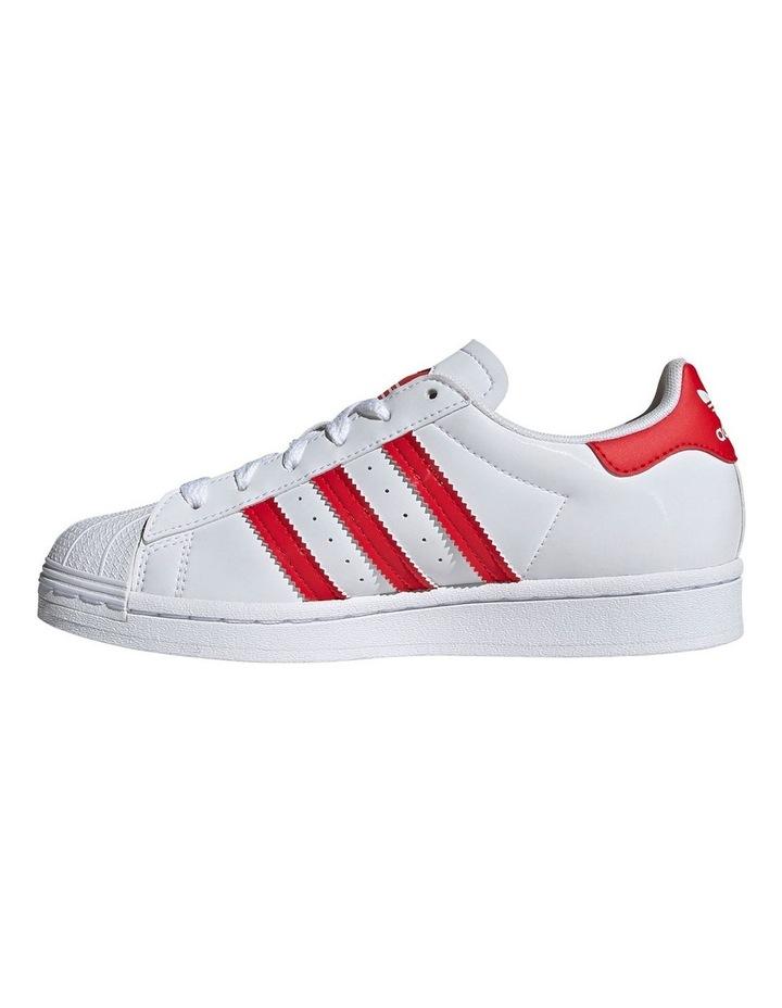 Superstar Heart Grade School Girls Sneakers image 2