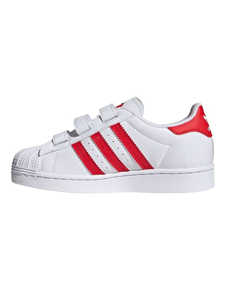 Superstar Heart Self Fastening Pre School Girls Sneakers image 2