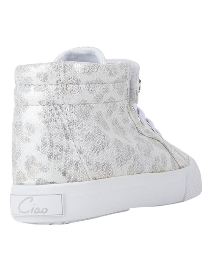 Morgan Shimmer Hi Top Girls Sneakers image 3