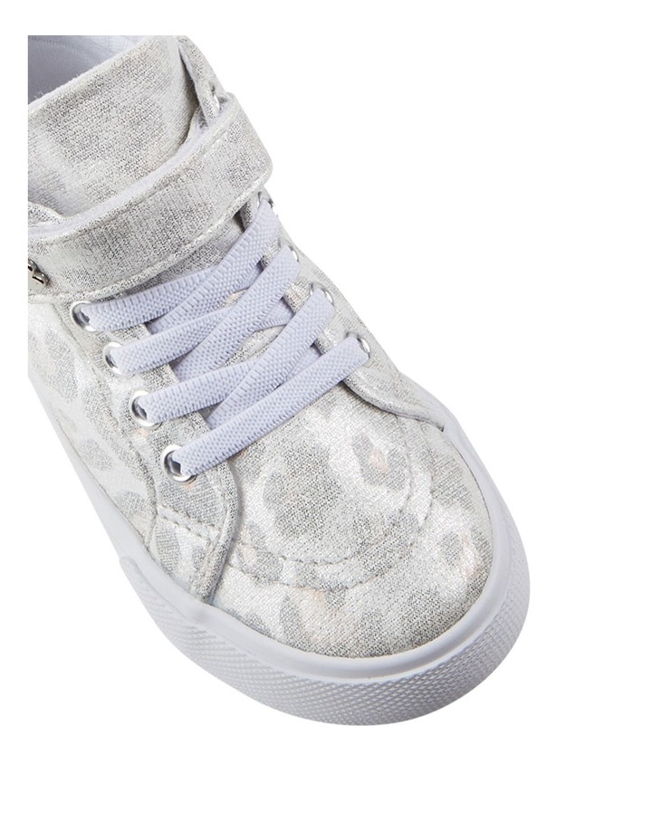 Morgan Shimmer Hi Top Girls Sneakers image 4