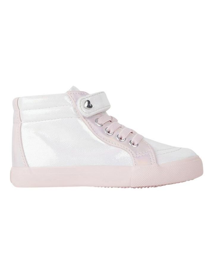 Morgan Shimmer Hi Top Girls Sneakers image 1