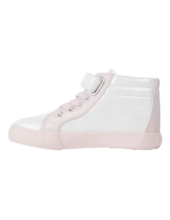Morgan Shimmer Hi Top Girls Sneakers image 2