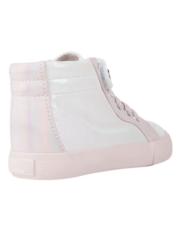 Morgan Shimmer Hi Top Girls Sneakers image 3