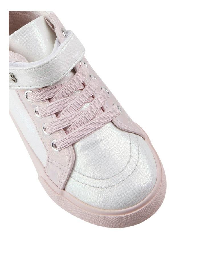 Morgan Shimmer Hi Top Girls Sneakers image 4