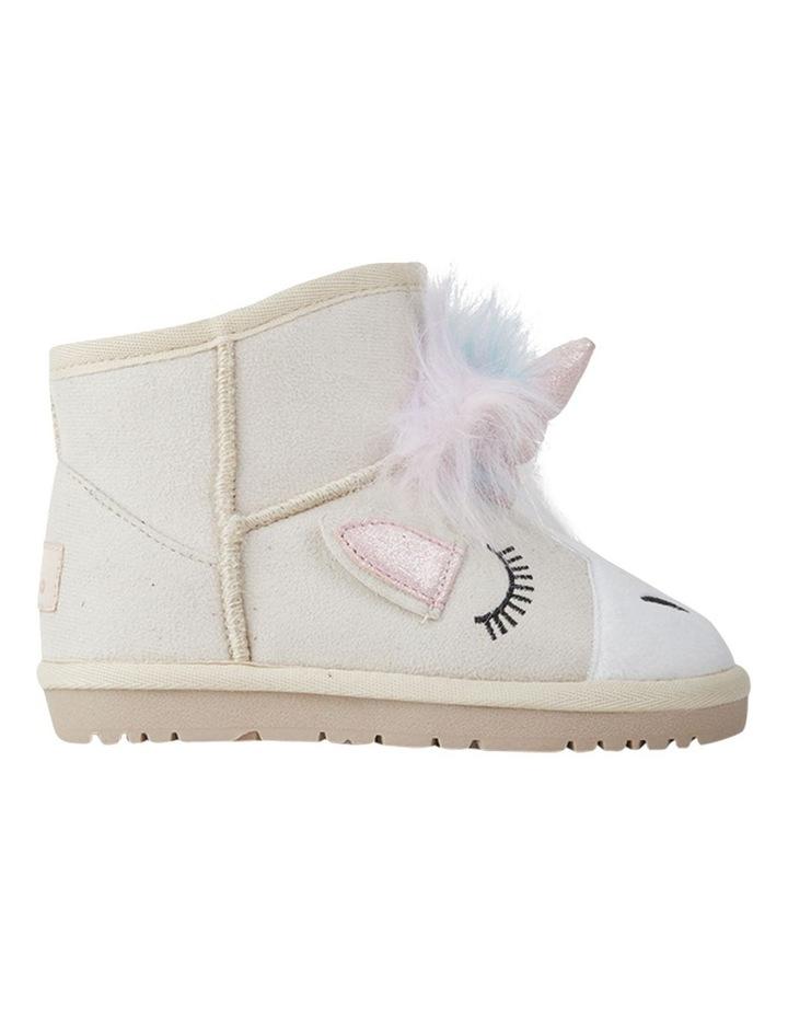 Frosty Unicorn Girls Slippers image 1