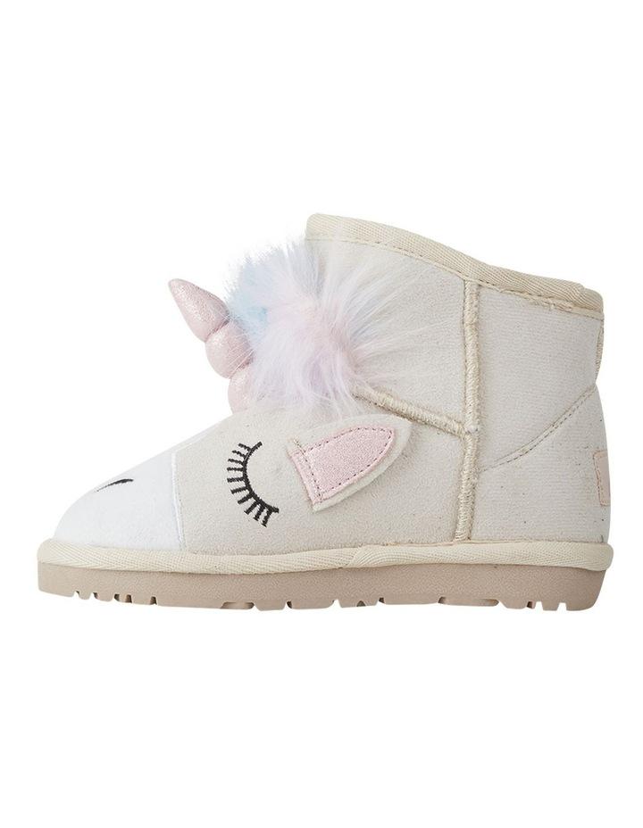 Frosty Unicorn Girls Slippers image 2
