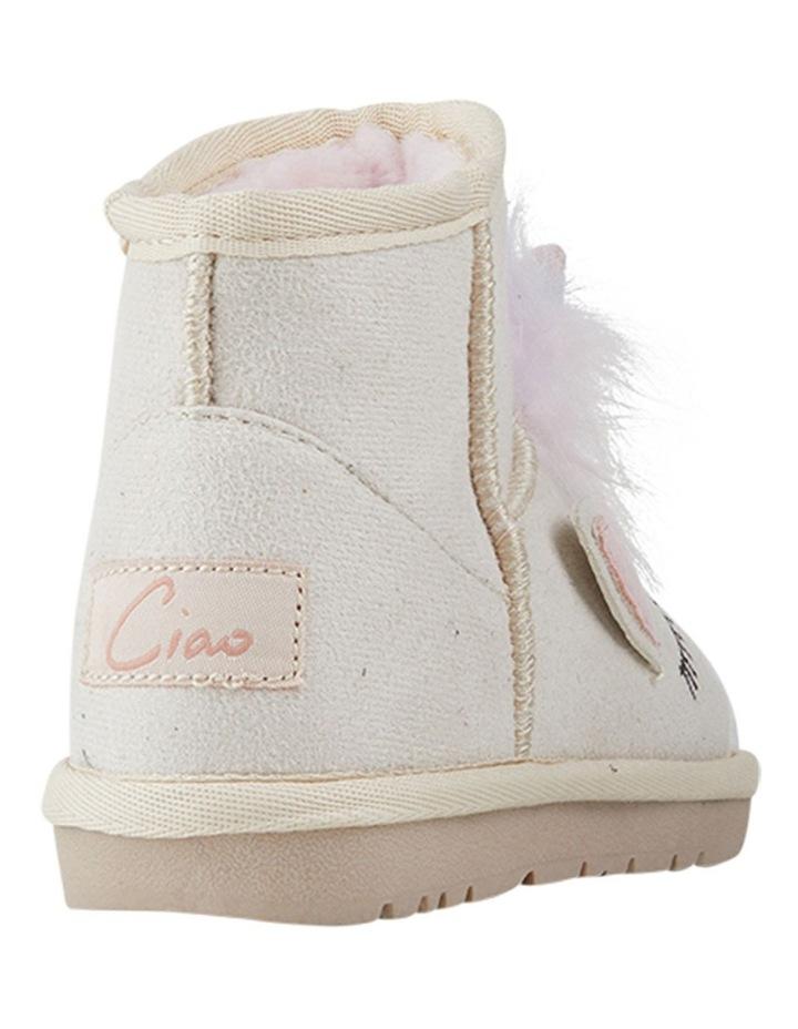 Frosty Unicorn Girls Slippers image 3