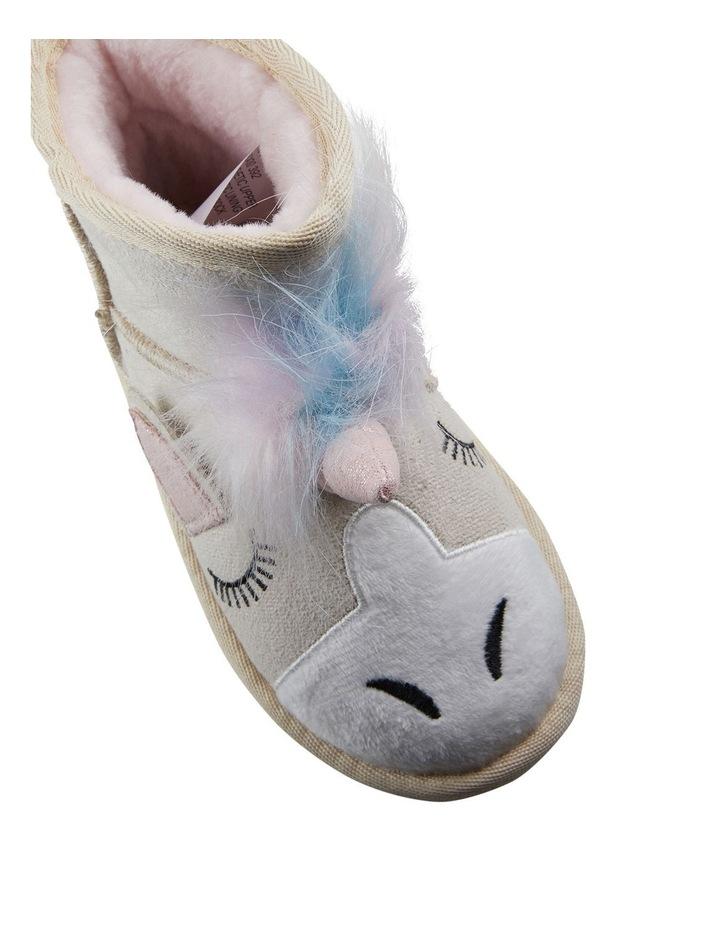 Frosty Unicorn Girls Slippers image 4