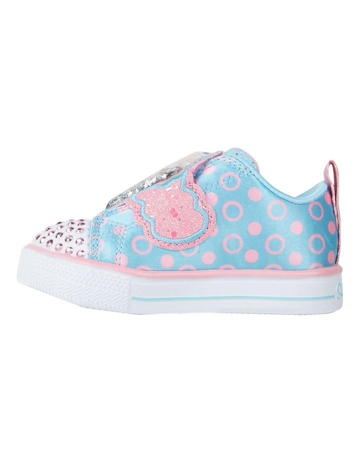 Twinkle Toes Shuffle Lite Treat Infant Girls Sneakers image 2
