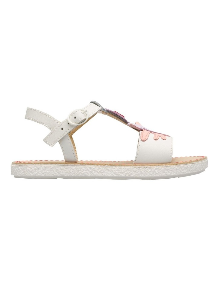 Twins Seahorse Youth White Sandals image 1