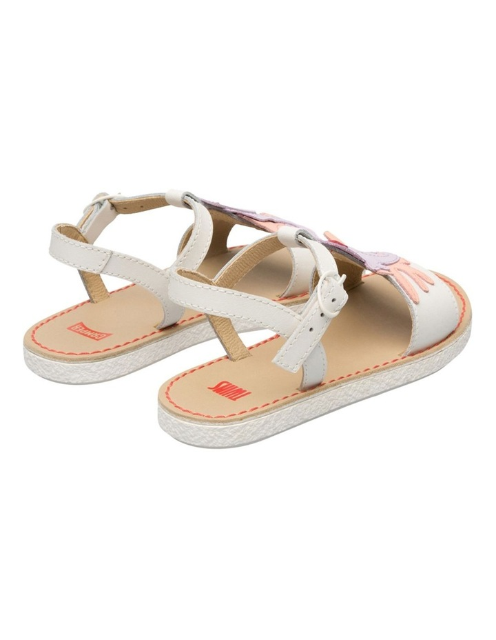 Twins Seahorse Youth White Sandals image 3
