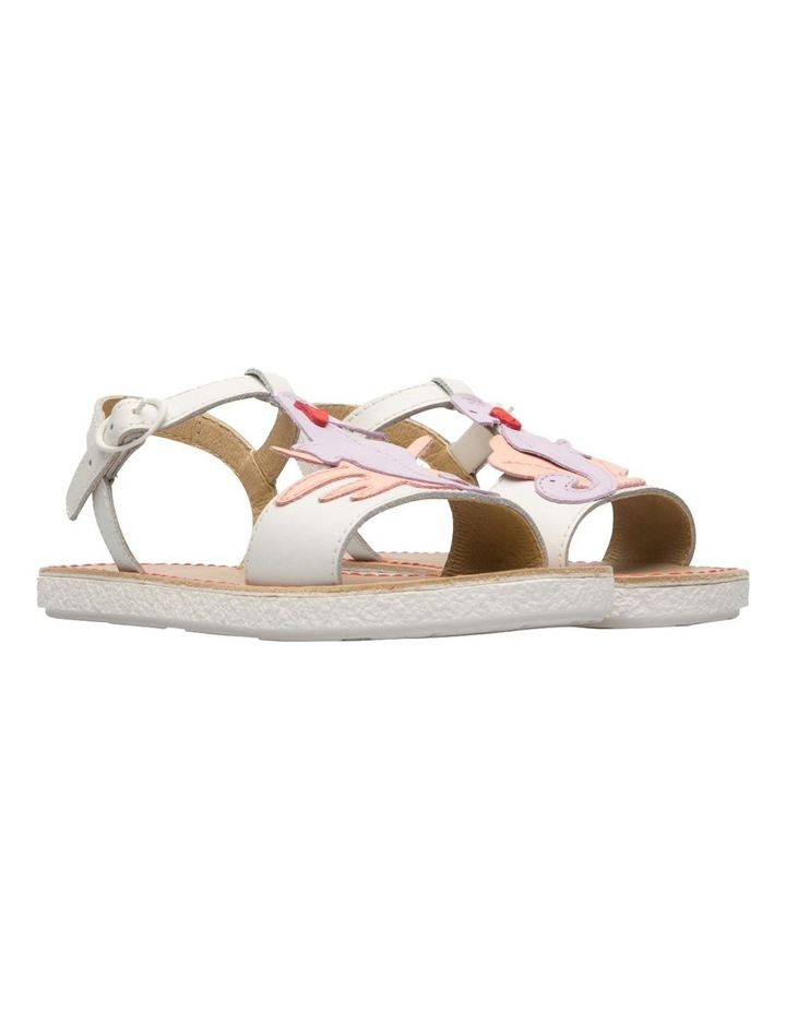 Twins Seahorse Youth White Sandals image 4