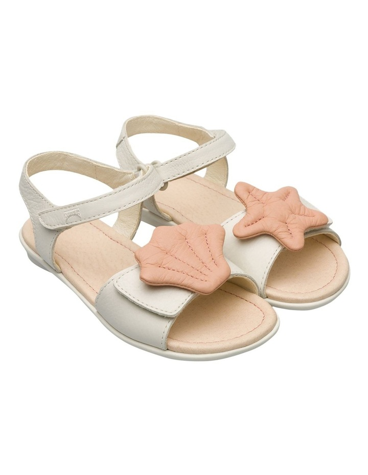 Twins Starfish Youth White Sandals image 4