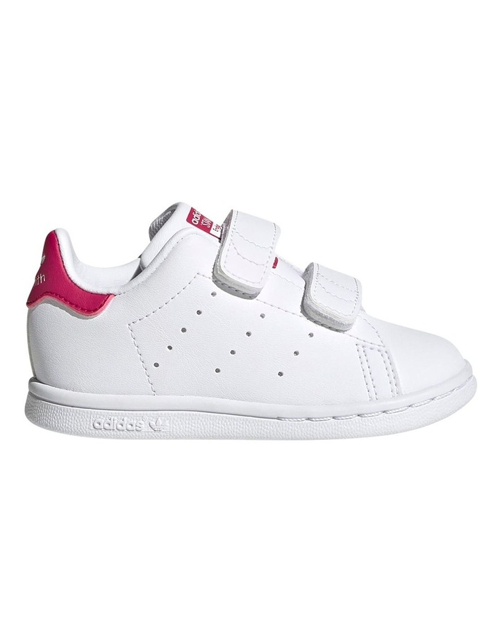 Stan Smith Self-Fastening Infant White Sneakers image 1