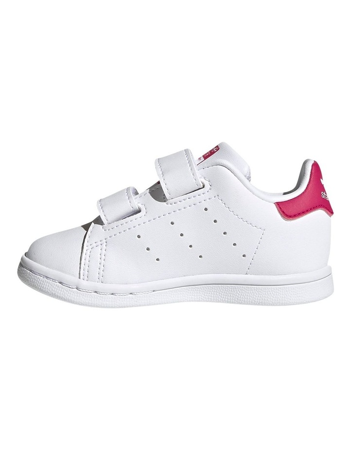 Stan Smith Self-Fastening Infant White Sneakers image 2