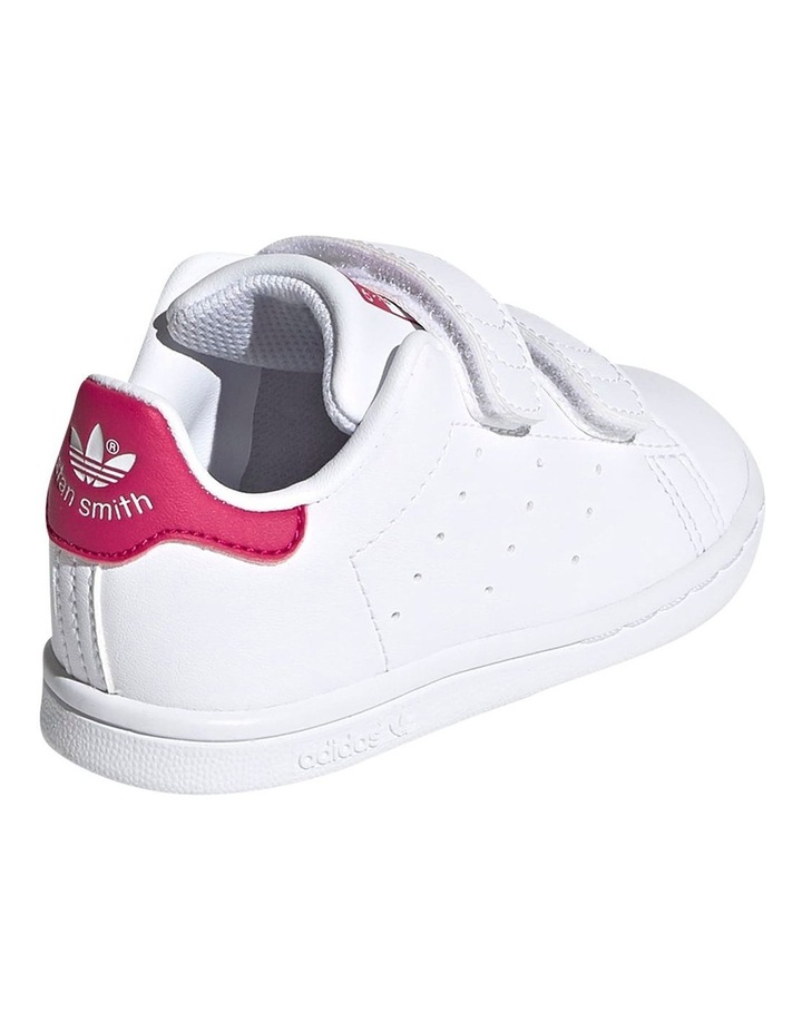 Stan Smith Self-Fastening Infant White Sneakers image 3
