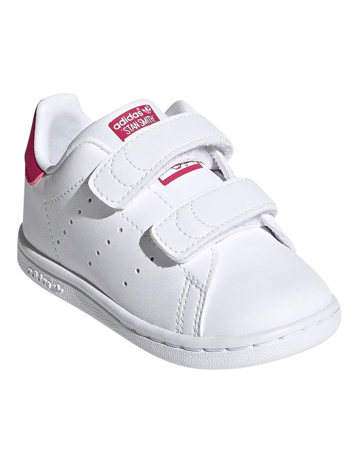 Stan Smith Self-Fastening Infant White Sneakers image 4