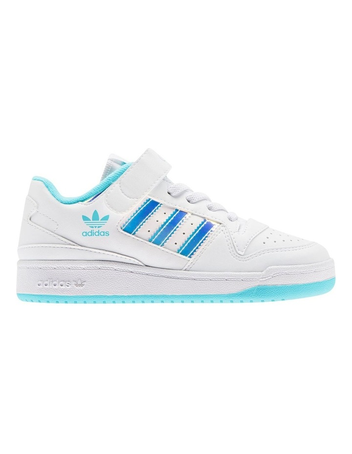 Forum Iridescent Pre-School White Sneakers image 1