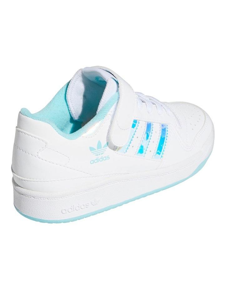 Forum Iridescent Pre-School White Sneakers image 3