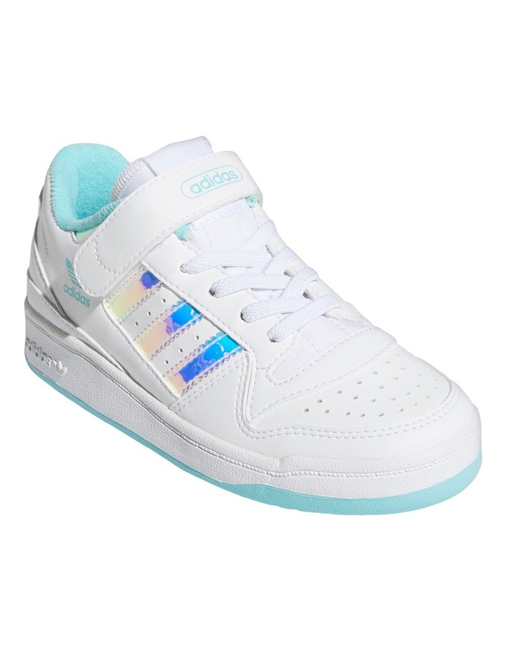 Forum Iridescent Pre-School White Sneakers image 4
