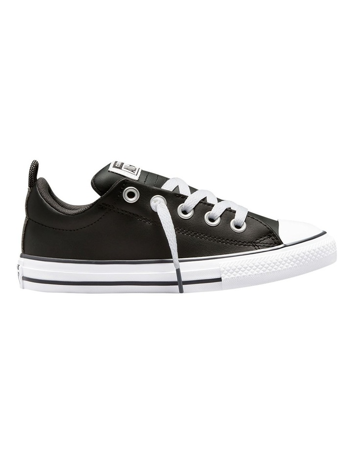Chuck Taylor All Star Street Leather Youth Boys Sneakers image 1