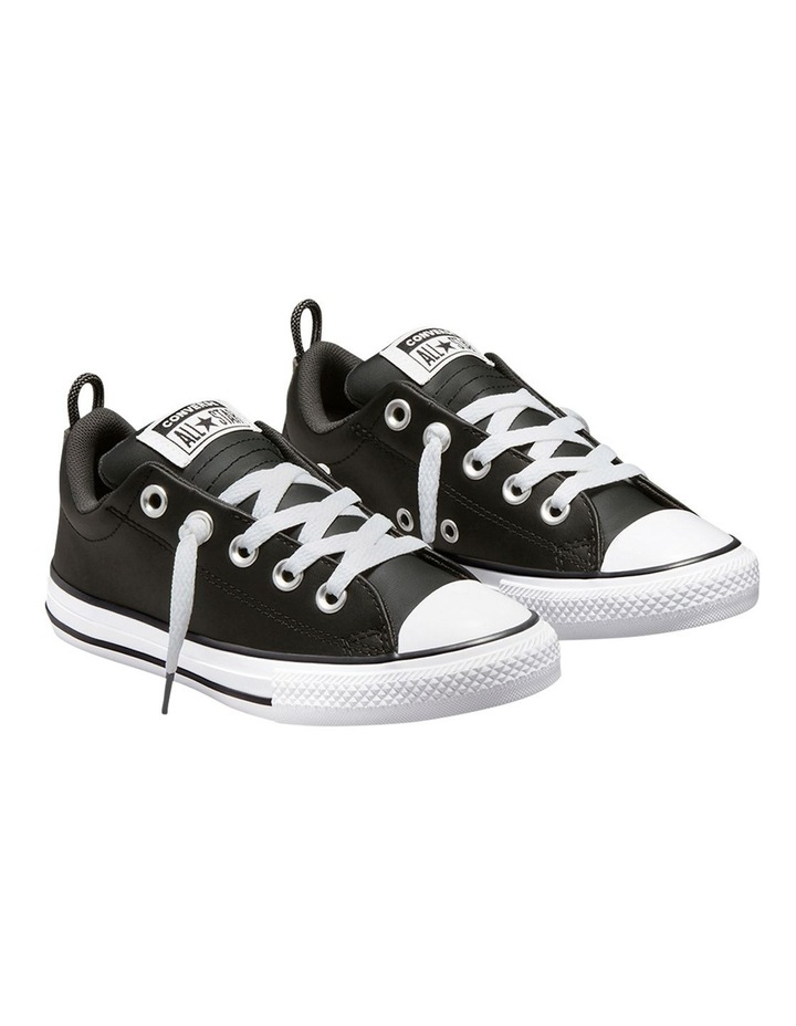 Chuck Taylor All Star Street Leather Youth Boys Sneakers image 4
