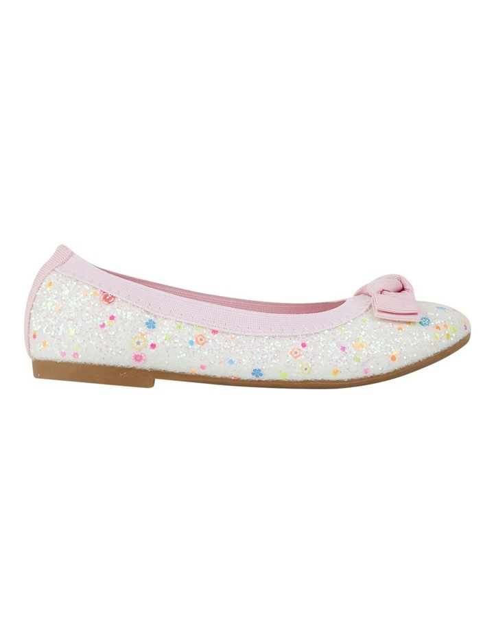 Keely Chunky Glitter Ballet Flats Girls Shoes image 1