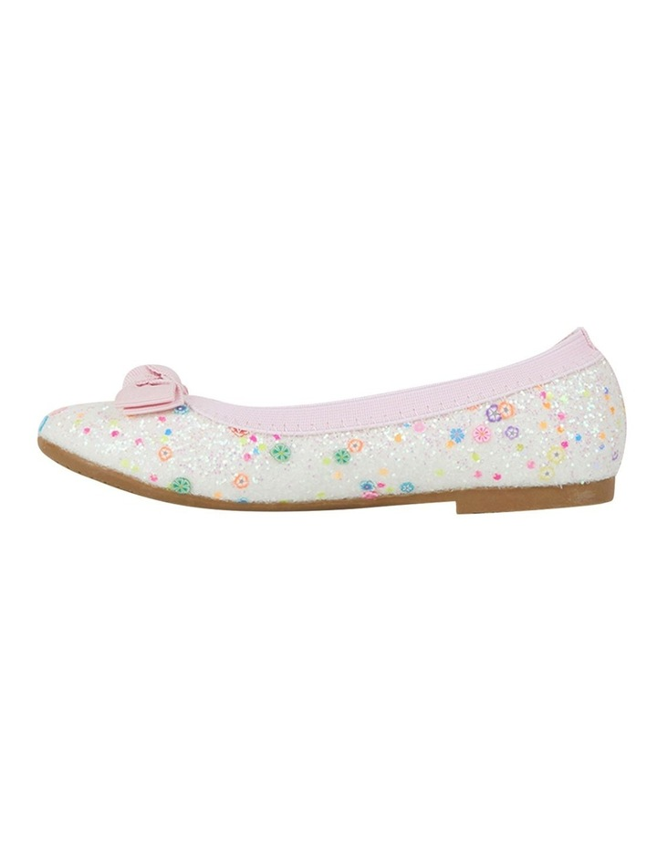 Keely Chunky Glitter Ballet Flats Girls Shoes image 2
