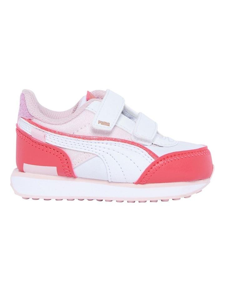 F Rider Ballerina Self-Fastening Infant Pink Sneakers image 1