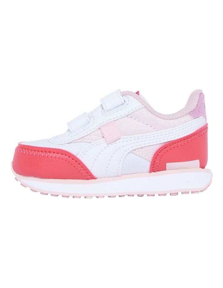 F Rider Ballerina Self-Fastening Infant Pink Sneakers image 2