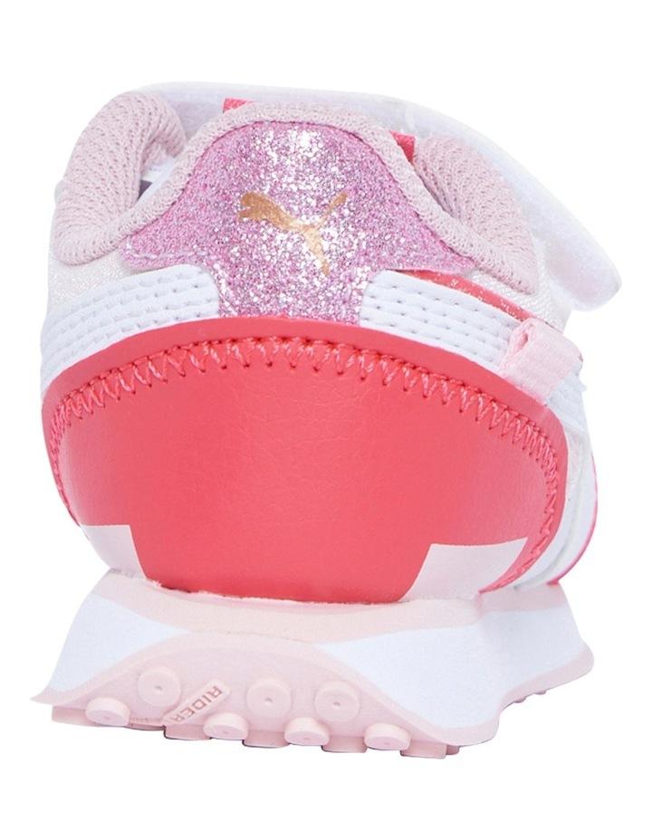 F Rider Ballerina Self-Fastening Infant Pink Sneakers image 3