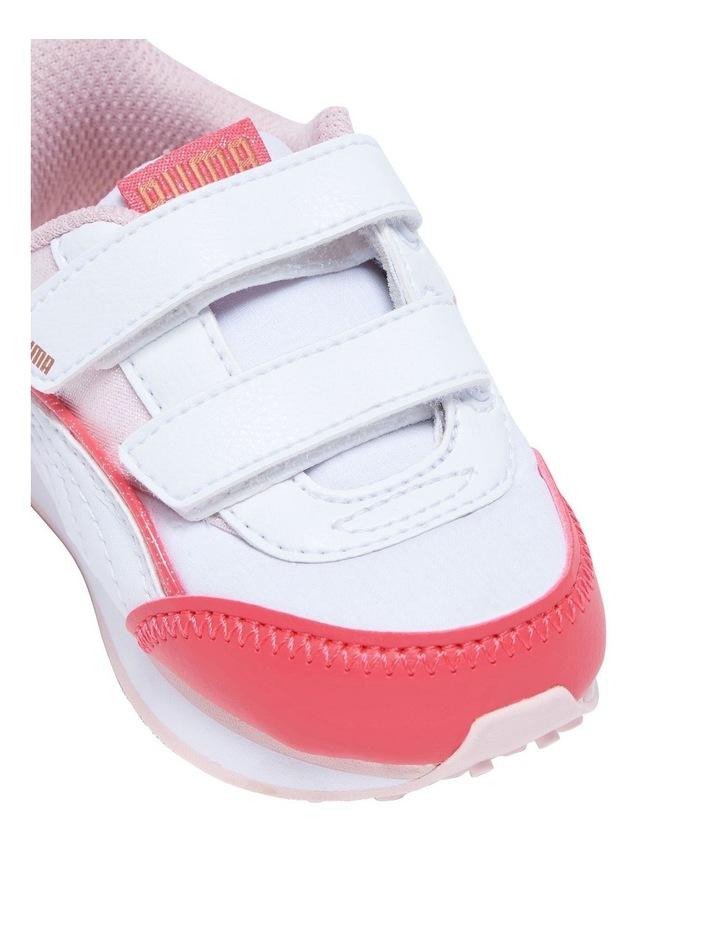F Rider Ballerina Self-Fastening Infant Pink Sneakers image 4