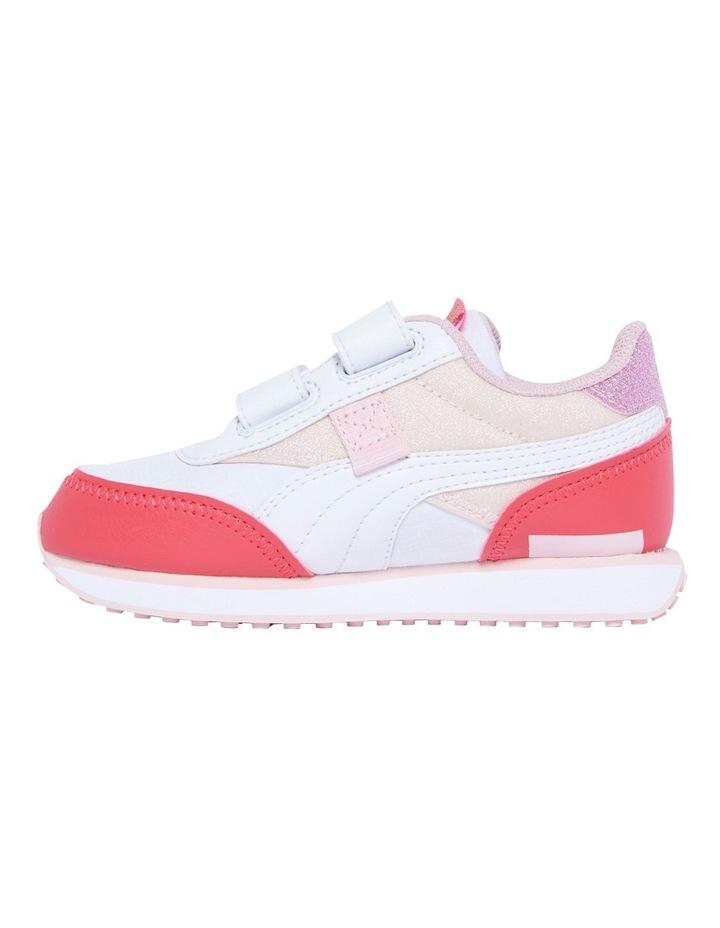 F Rider Ballerina Self-Fastening Pre-School Pink Sneakers image 2