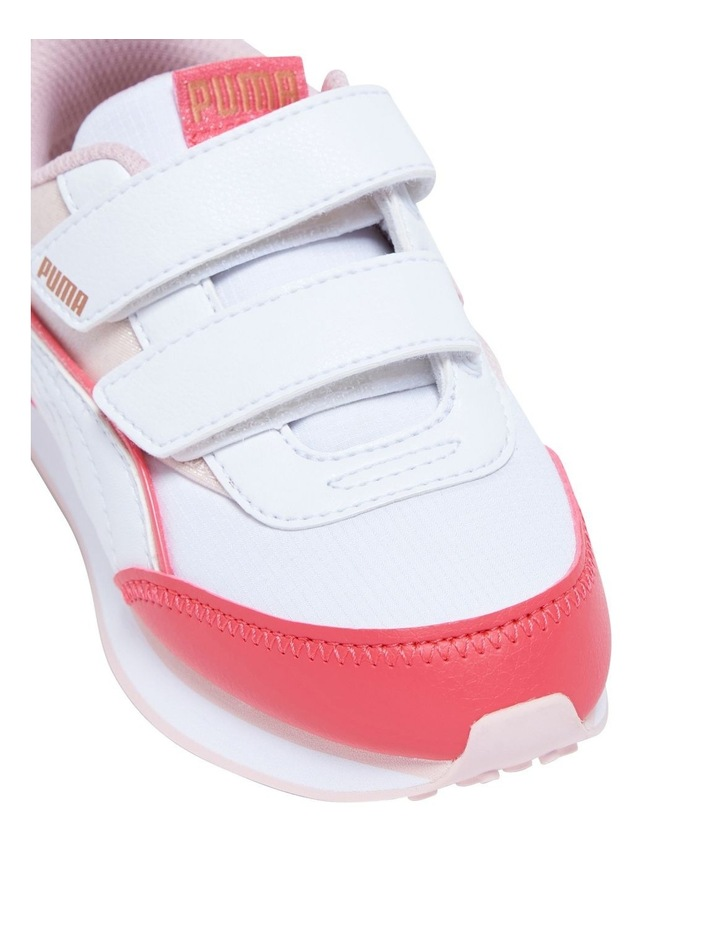 F Rider Ballerina Self-Fastening Pre-School Pink Sneakers image 4