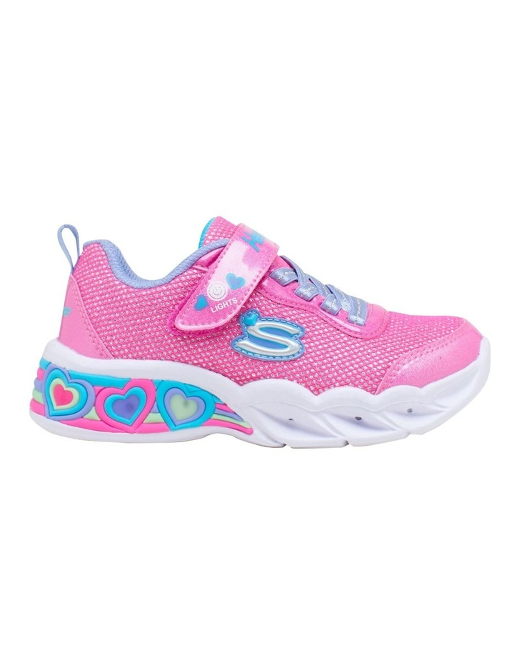 Sweetheart Lights Shimmer Youth Girls Sneakers image 1