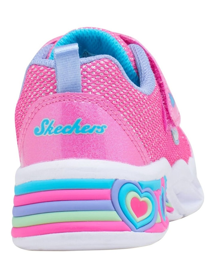 Sweetheart Lights Shimmer Youth Girls Sneakers image 2