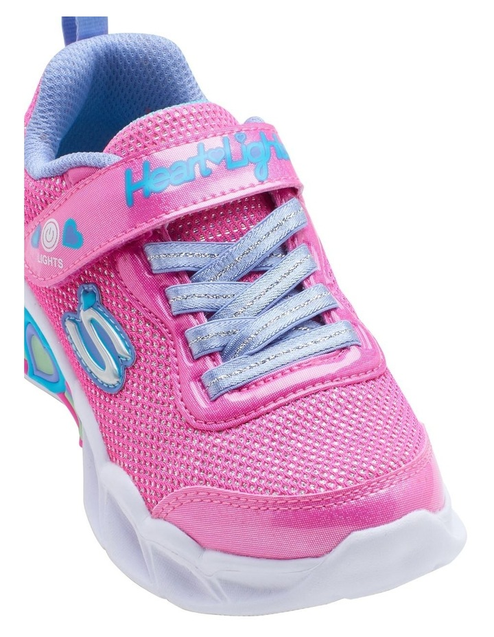 Sweetheart Lights Shimmer Youth Girls Sneakers image 4
