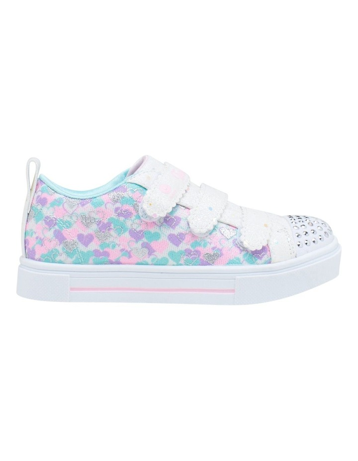 Twinkle Toes Twinkle Sparks Hearts Youth Girls Sneakers image 1