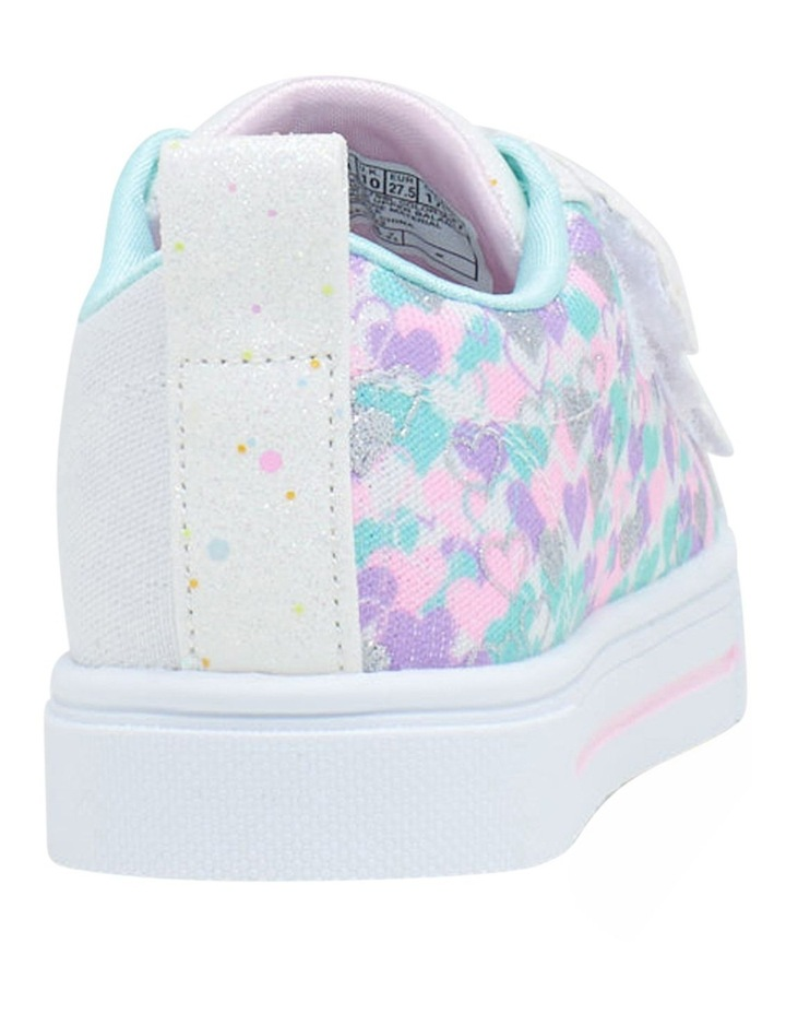 Twinkle Toes Twinkle Sparks Hearts Youth Girls Sneakers image 2
