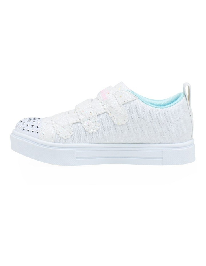 Twinkle Toes Twinkle Sparks Hearts Youth Girls Sneakers image 3