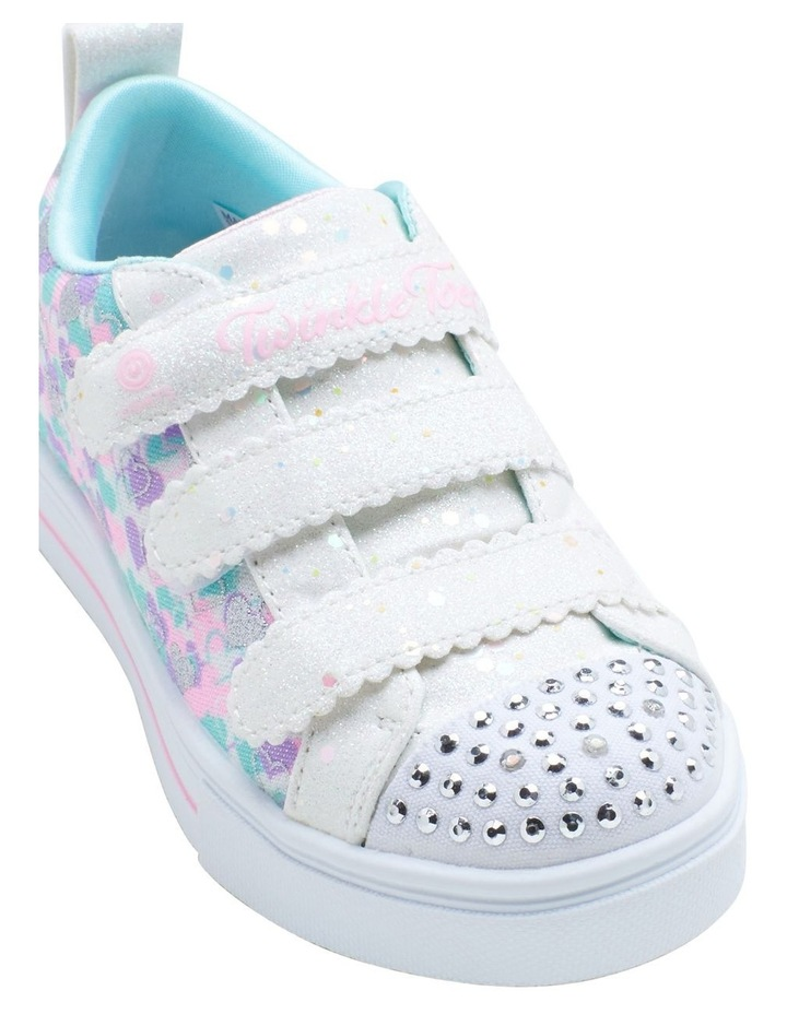 Twinkle Toes Twinkle Sparks Hearts Youth Girls Sneakers image 4