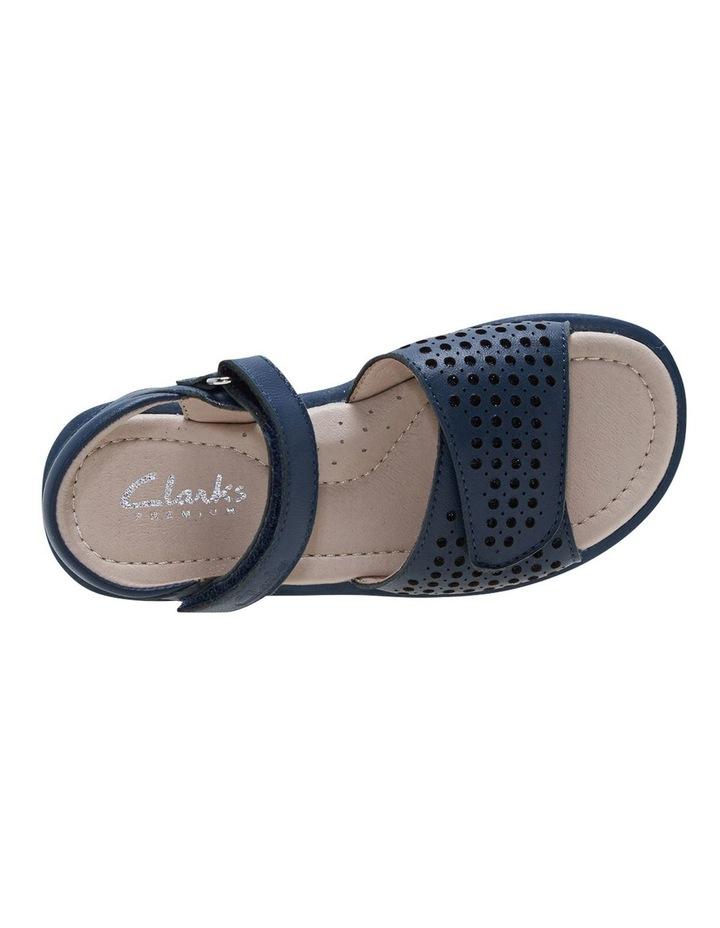 Petra Navy Sandals image 4