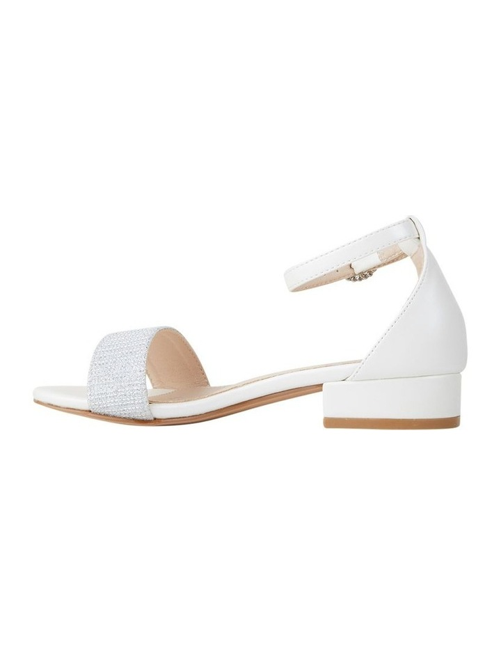 MC Leena White Sandals image 2