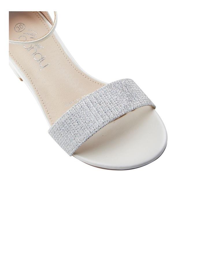 MC Leena White Sandals image 4