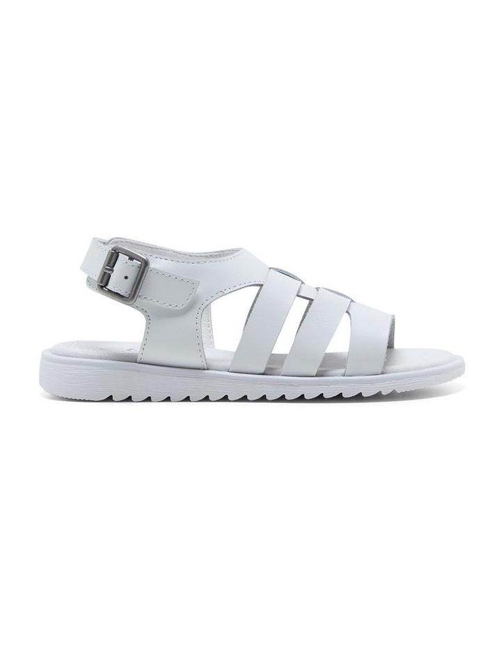 Yolanda White Sandals image 1