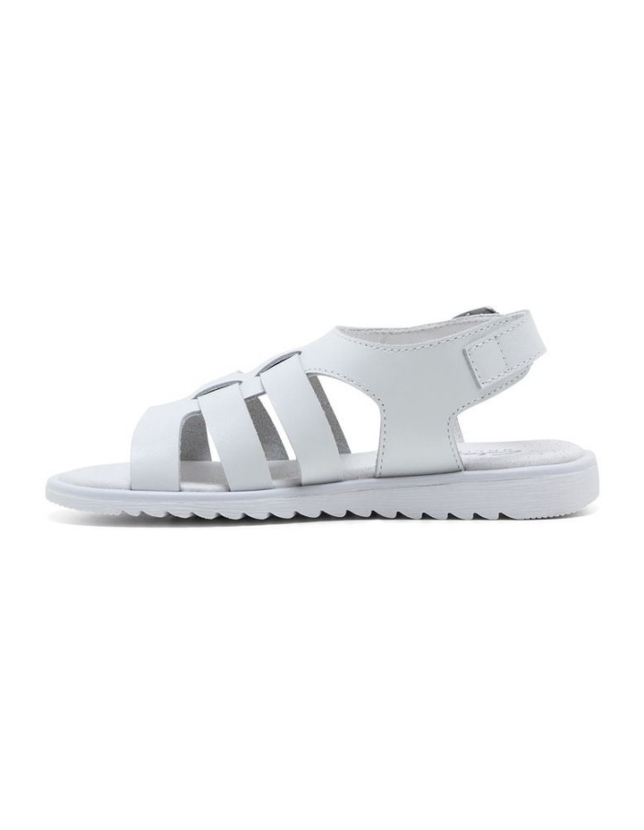 Yolanda White Sandals image 2