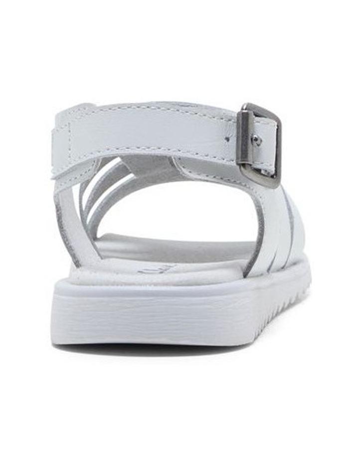 Yolanda White Sandals image 3