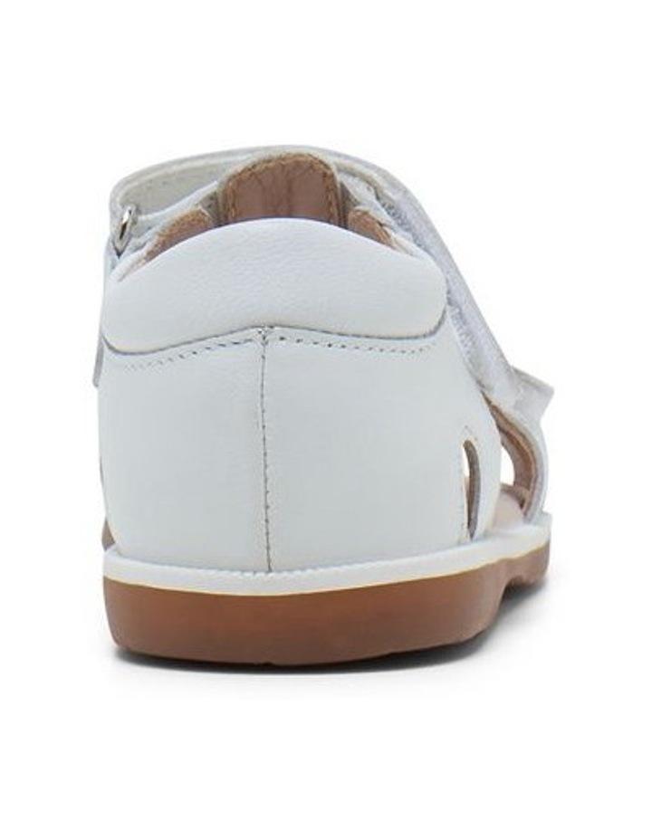 Calypso White Glitter Sandals image 3