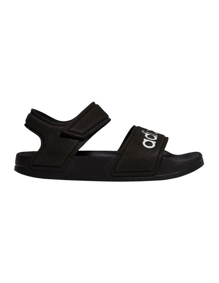 Adilette Sandal K Black and White Sandals image 1