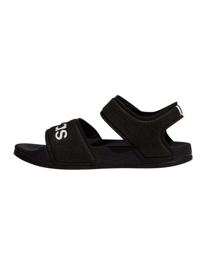Adilette Sandal K Black and White Sandals image 2